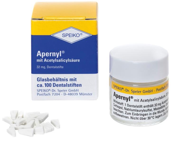 Apernyl mit Acetylsalicylsäure