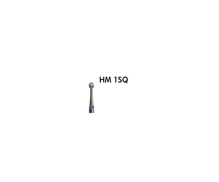 H+M Hartmetallbohrer Fig. 1SQ rund, blauer Ring