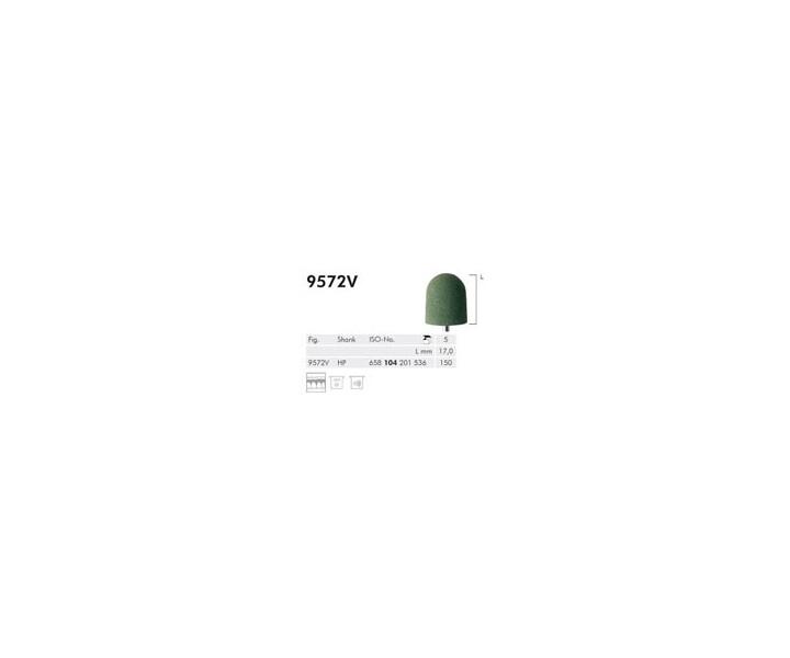 H+M Elastische Polierer Fig. 9569 V - 9579 V, grün