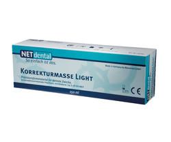 NET A-Silikon Korrekturmasse light