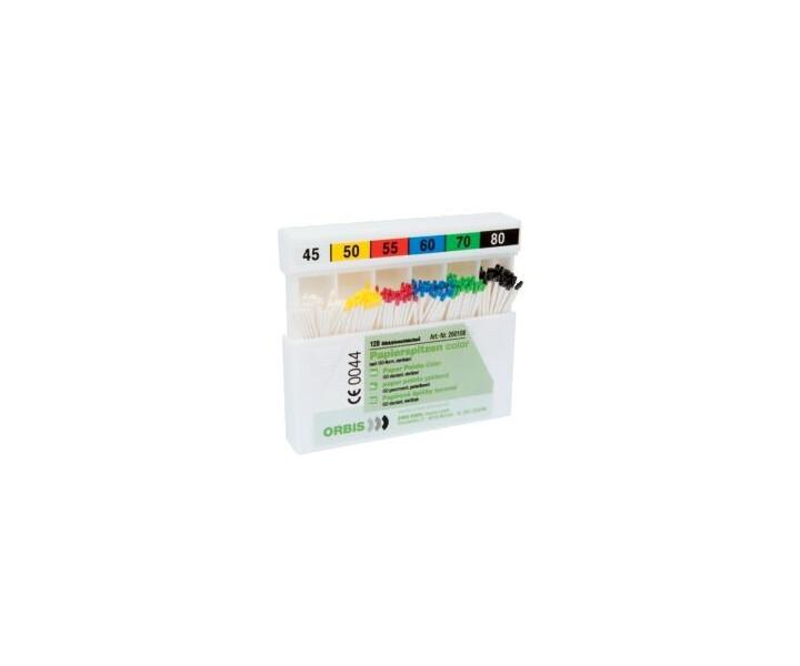 Papierspitzen, color