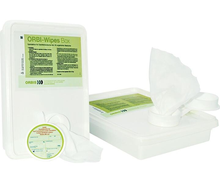 ORBI-Wipes Mikrovliestücher (Box), ungetränkt