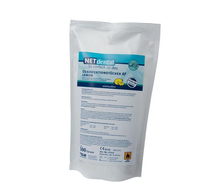 NET Desinfektionstücher AF