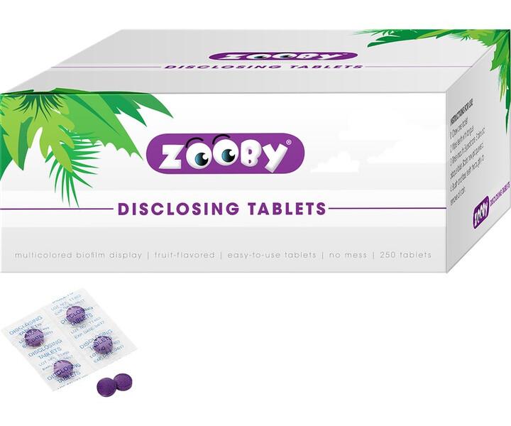 Zooby Plaque Anfärbetabletten
