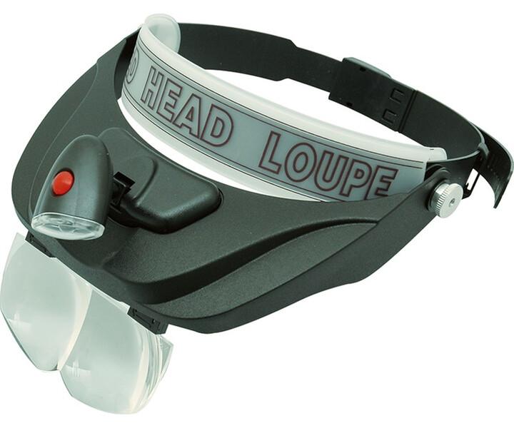 Stereo-Kopfbandlupe LED